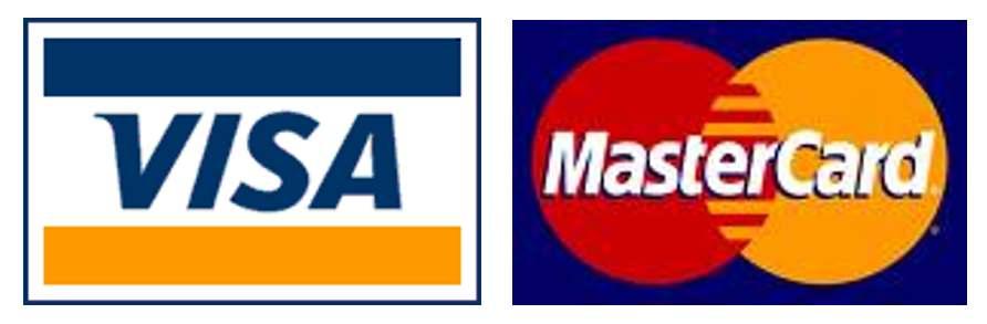 VISA、MasterCard