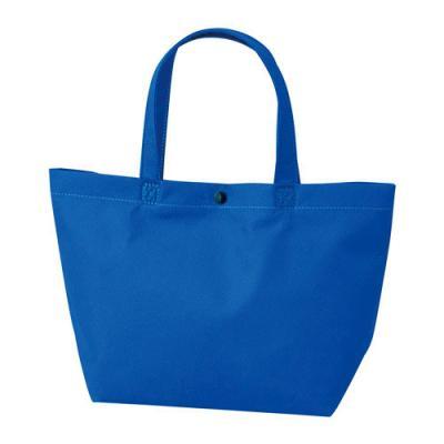 カラモ 不織布バッグ カジュアルトート ブルー