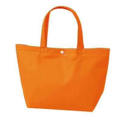 カラモ 不織布バッグ カジュアルトート オレンジ