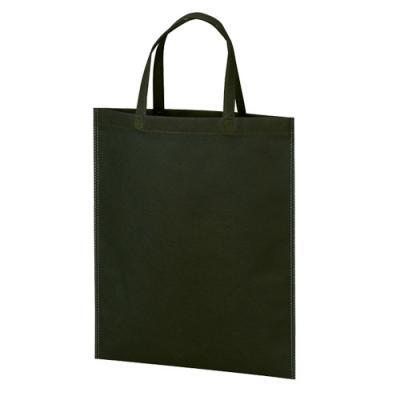 カラモ 不織布バッグ マチなしA4縦 黒