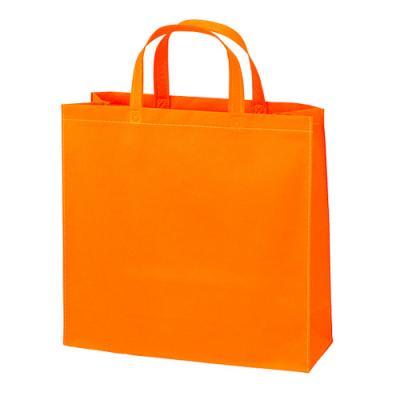 カラモ 不織布バッグ トート オレンジ