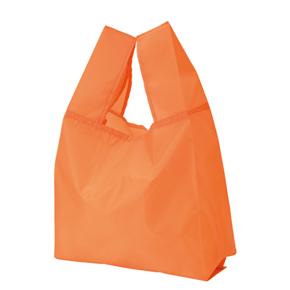 カラモ クルクルたためるマイバッグ オレンジ