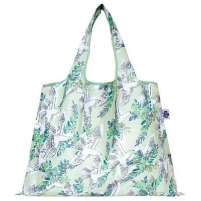 2WAY Shoppingbag 花と鳥