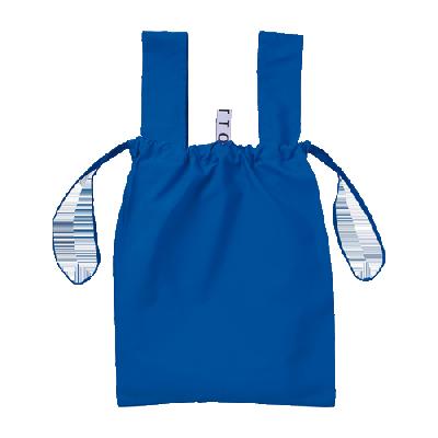 クルリト デイリー巾着バッグ(ブルー)